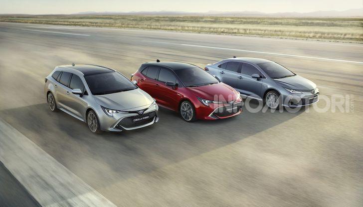 Una Toyota Corolla Full Hybrid per la Presidenza del Consiglio - Foto 1 di 27