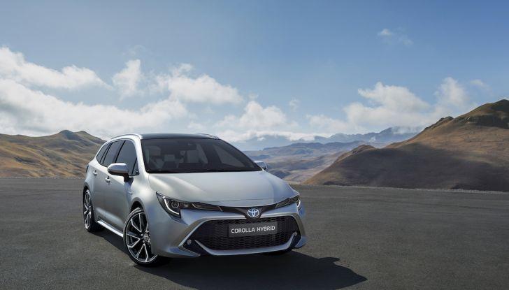 Una Toyota Corolla Full Hybrid per la Presidenza del Consiglio - Foto 3 di 27