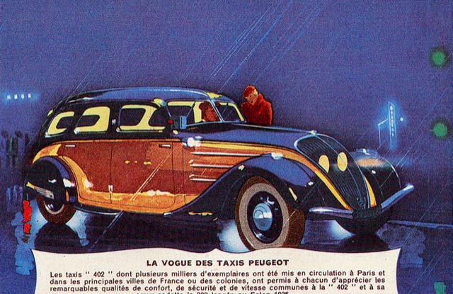 1938, il Diesel Peugeot debutta con i tassisti - Foto 4 di 4