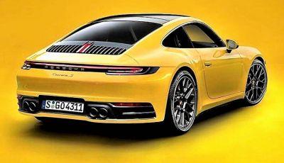Porsche 911 992,la nuova generazione svelata in forma definitiva