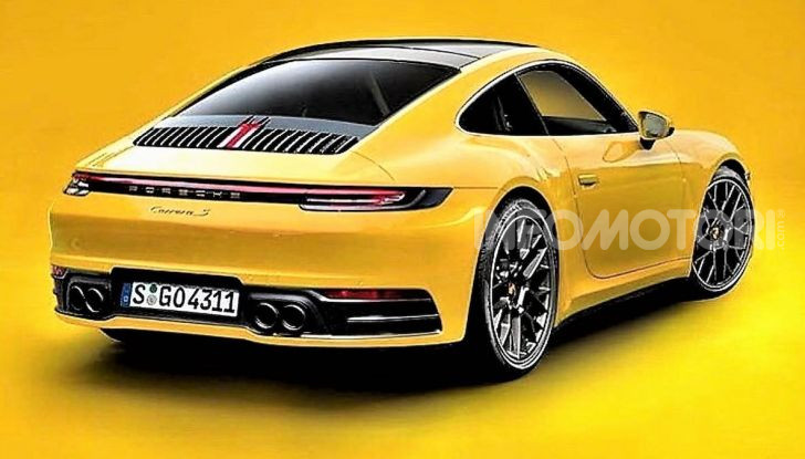 Porsche 911 992,la nuova generazione svelata in forma definitiva - Foto 1 di 30