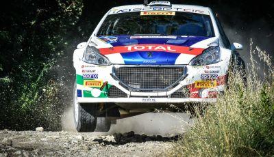 Belli carichi i piloti Peugeot invista del Rally Adriatico