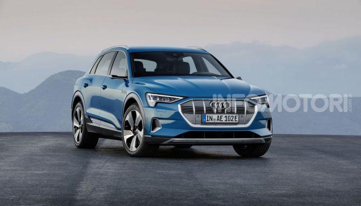 Audi: il SUV elettrico e-Tron debutta in California per sfidare Tesla - Foto 9 di 20