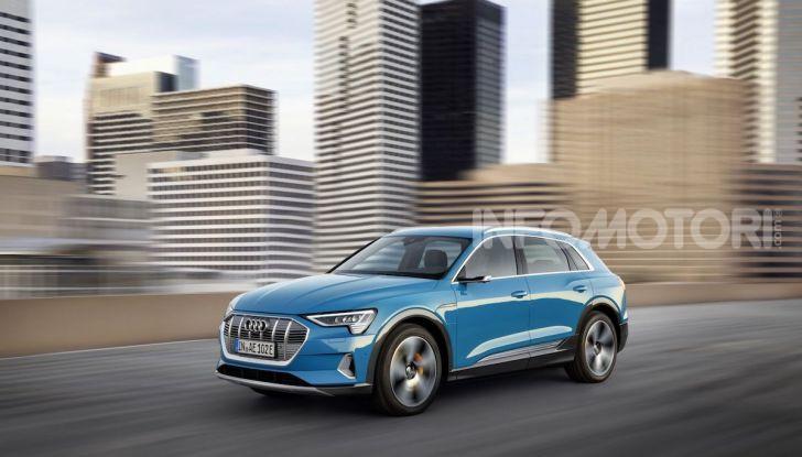 Audi: il SUV elettrico e-Tron debutta in California per sfidare Tesla - Foto 10 di 20