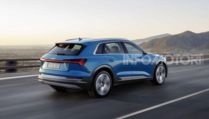 Audi: il SUV elettrico e-Tron debutta in California per sfidare Tesla - Foto 18 di 20