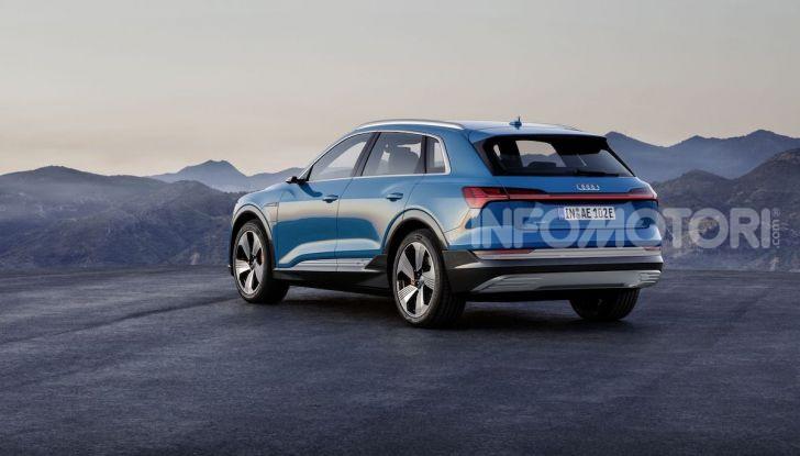 Audi: il SUV elettrico e-Tron debutta in California per sfidare Tesla - Foto 19 di 20