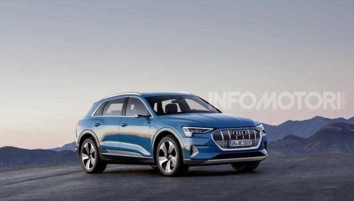 Audi: il SUV elettrico e-Tron debutta in California per sfidare Tesla - Foto 1 di 20