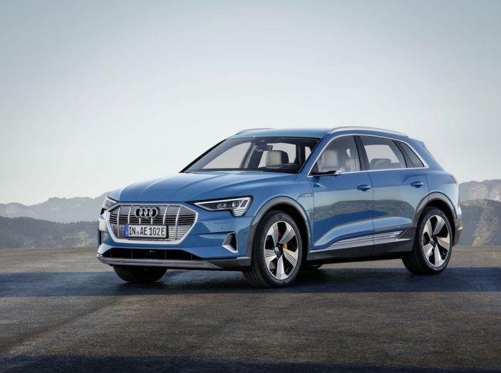 Audi e-tron debutta in Italia, prezzi da 83.930 euro