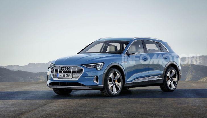 Audi: il SUV elettrico e-Tron debutta in California per sfidare Tesla - Foto 20 di 20