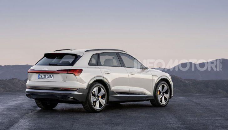 Audi: il SUV elettrico e-Tron debutta in California per sfidare Tesla - Foto 3 di 20