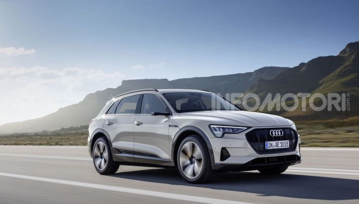 Audi: il SUV elettrico e-Tron debutta in California per sfidare Tesla - Foto 4 di 20