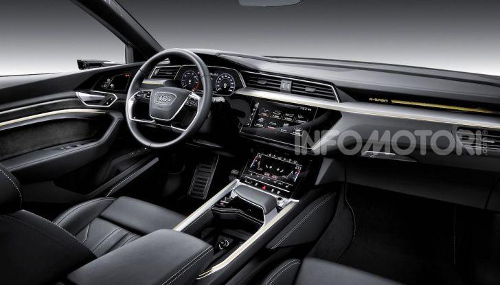 Audi: il SUV elettrico e-Tron debutta in California per sfidare Tesla - Foto 6 di 20