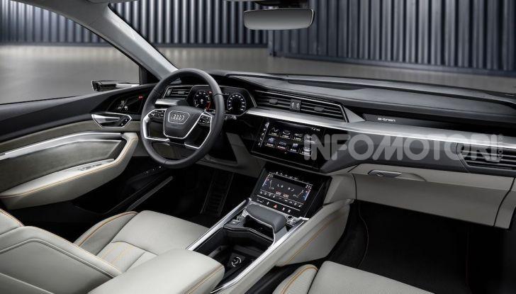 Audi: il SUV elettrico e-Tron debutta in California per sfidare Tesla - Foto 8 di 20