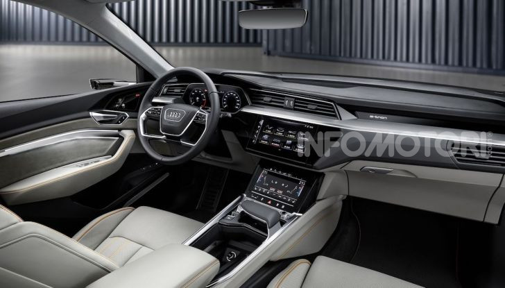 La nuova Audi e-tron sviluppata insieme ad Enel X - Foto 12 di 13