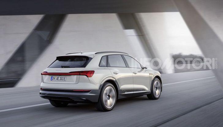 Audi: il SUV elettrico e-Tron debutta in California per sfidare Tesla - Foto 12 di 20