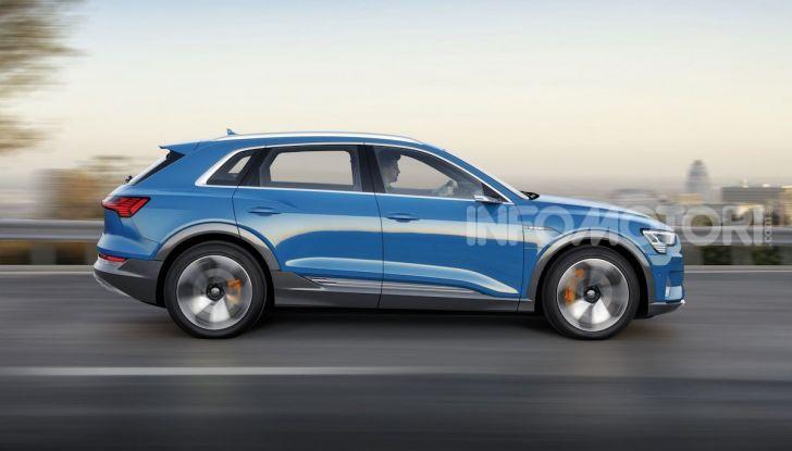 Audi: il SUV elettrico e-Tron debutta in California per sfidare Tesla - Foto 13 di 20
