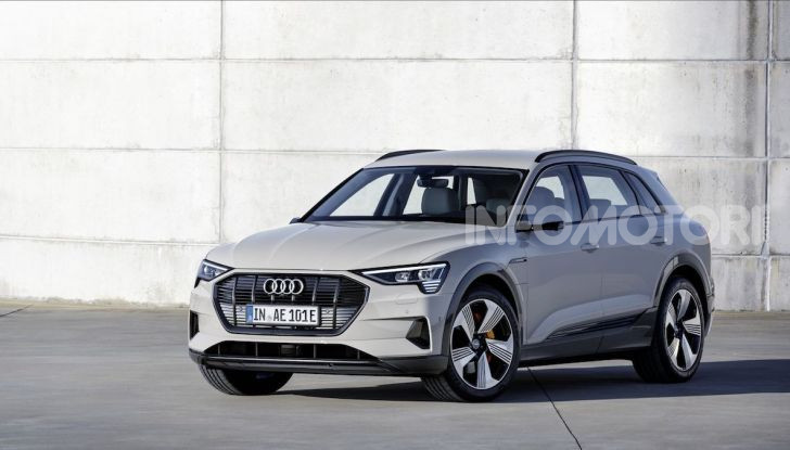 Audi: il SUV elettrico e-Tron debutta in California per sfidare Tesla - Foto 14 di 20