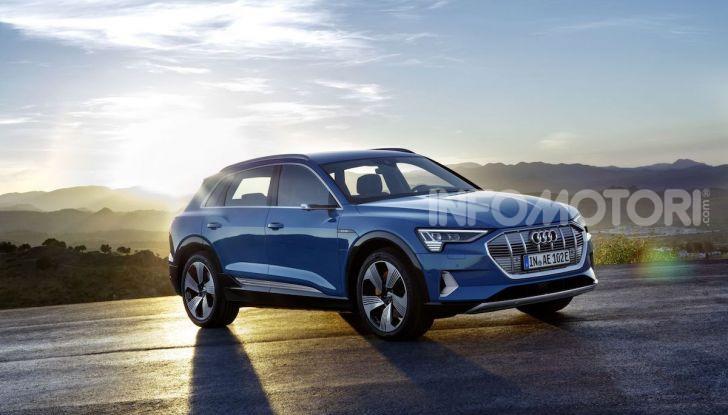 Audi: il SUV elettrico e-Tron debutta in California per sfidare Tesla - Foto 2 di 20