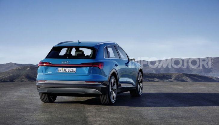 Audi: il SUV elettrico e-Tron debutta in California per sfidare Tesla - Foto 15 di 20