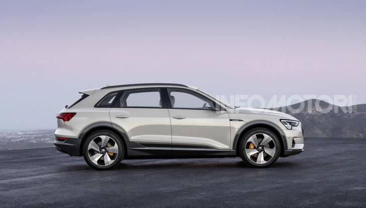 Audi: il SUV elettrico e-Tron debutta in California per sfidare Tesla - Foto 16 di 20