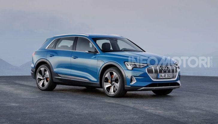 Audi: il SUV elettrico e-Tron debutta in California per sfidare Tesla - Foto 17 di 20