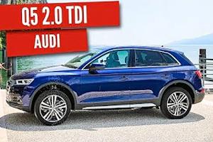 Nuova Audi Q5: Il test drive di 100 Miglia sul lago