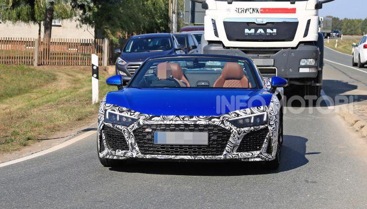 Audi R8 Spyder restyling 2019, dati tecnici e informazioni - Foto 4 di 10