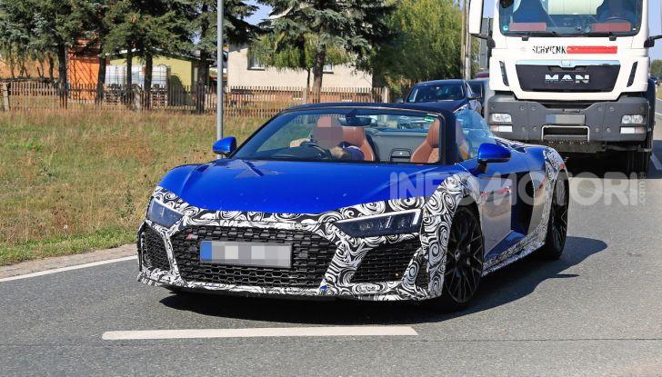 Audi R8 Spyder restyling 2019, dati tecnici e informazioni - Foto 5 di 10