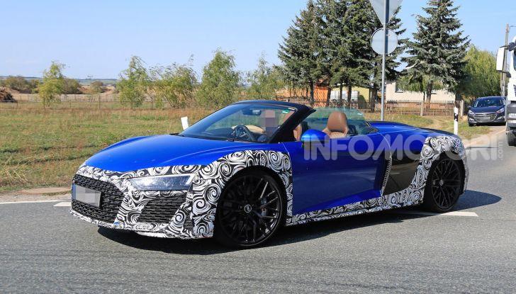 Audi R8 Spyder restyling 2019, dati tecnici e informazioni - Foto 1 di 10
