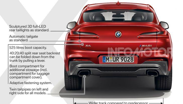 BMW X4 2018, prova in anteprima: SUV d'assalto con tecnologia e stile - Foto 8 di 21
