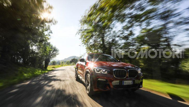 BMW X4 2018, prova in anteprima: SUV d'assalto con tecnologia e stile - Foto 13 di 21