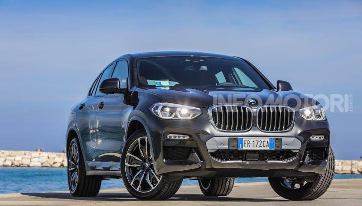 BMW X4 2018, prova in anteprima: SUV d'assalto con tecnologia e stile - Foto 2 di 21