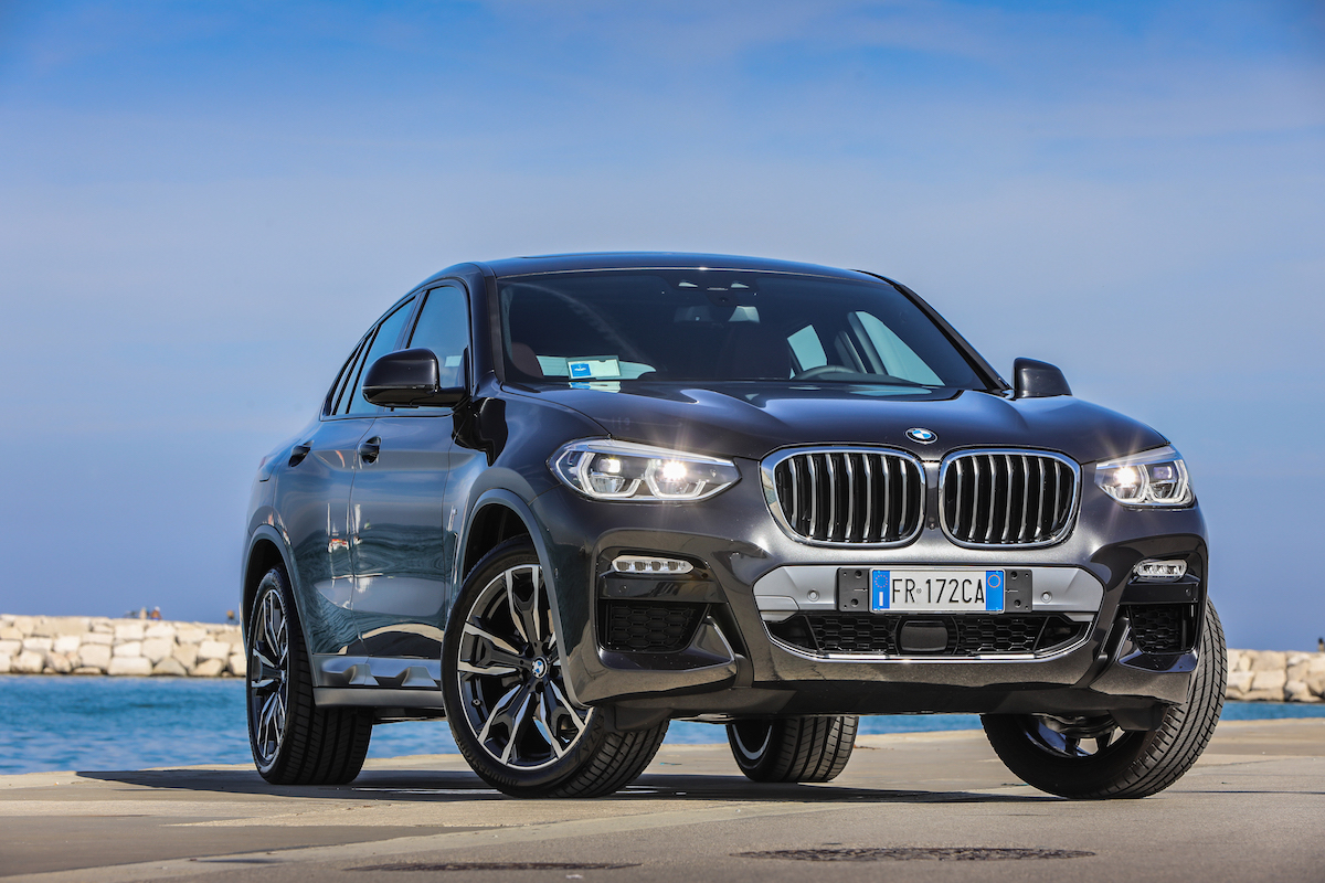 BMW X4 2018 Front View