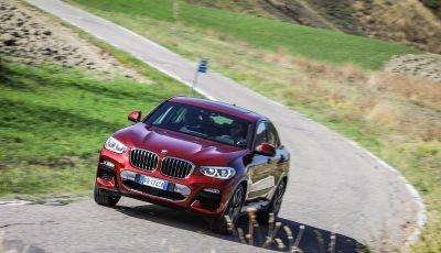BMW X4 2018, prova in anteprima: SUV d'assalto con tecnologia e stile