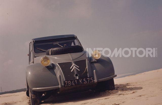 La Citroën 2CV versione 4×4 - Foto 1 di 17