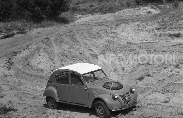 La Citroën 2CV versione 4×4 - Foto 9 di 17