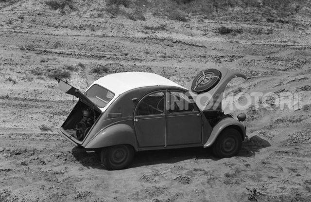 La Citroën 2CV versione 4×4 - Foto 10 di 17