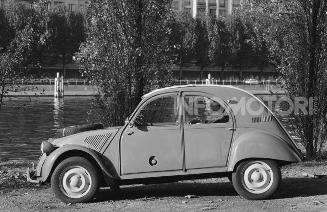 La Citroën 2CV versione 4×4 - Foto 5 di 17