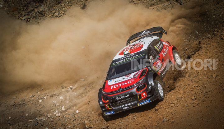 WRC Turchia 2018- giorno 1: la velocità della C3 WRC non ricompensata - Foto  di