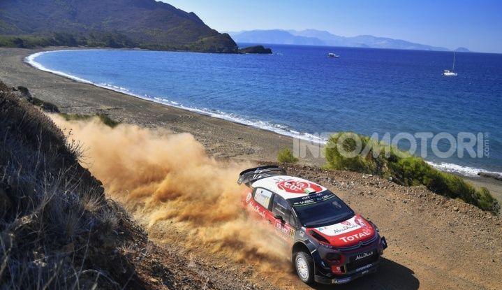 WRC Turchia 2018 – giorno 2: un terreno impegnativo per le C3 WRC - Foto  di