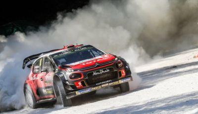 WRC Turchia 2018 - giorno 3: la C3 WRC di Ostberg ritrova il ritmo