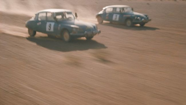 DS 21 al Rally del Marocco: arrivo a Marrakech