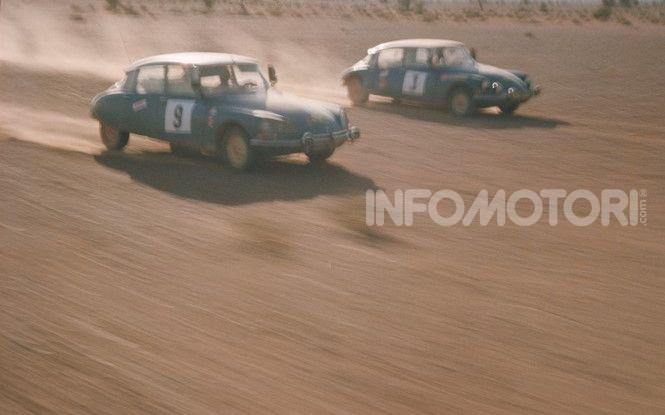 DS 21 al Rally del Marocco: arrivo a Marrakech - Foto 1 di 2