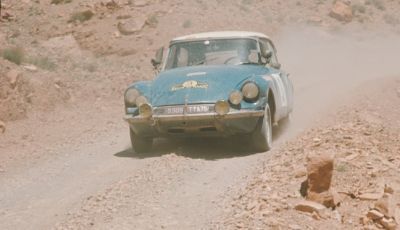 DS 21 al Rally del Marocco: vittoria epica.