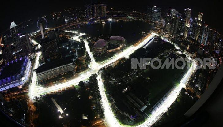 Orari TV F1 2018, GP di Singapore in diretta Sky e differita TV8 - Foto 4 di 7