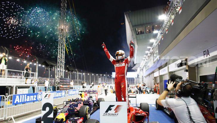 Orari TV F1 2018, GP di Singapore in diretta Sky e differita TV8 - Foto 5 di 7