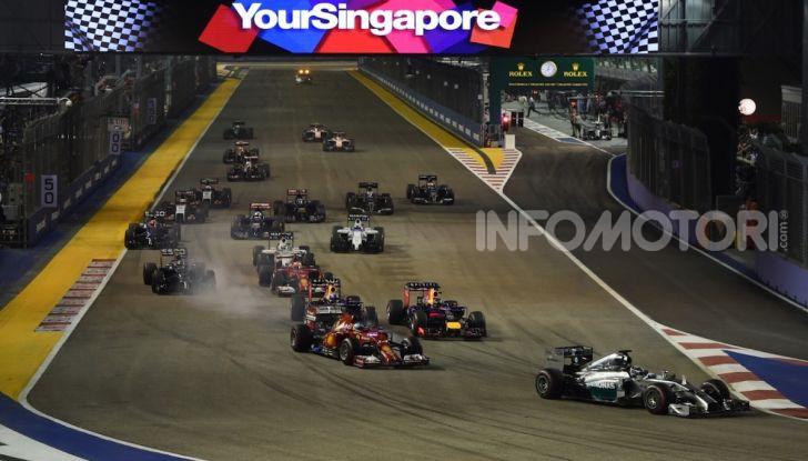Orari TV F1 2018, GP di Singapore in diretta Sky e differita TV8 - Foto 2 di 7