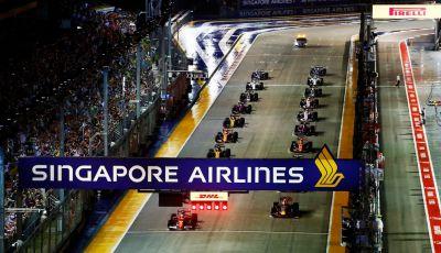 Orari TV F1 2018, GP di Singapore in diretta Sky e differita TV8