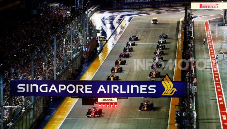 Orari TV F1 2018, GP di Singapore in diretta Sky e differita TV8 - Foto 1 di 7