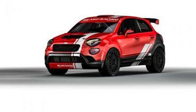 Fiat 500X da rally by Milano Racing e Oreca